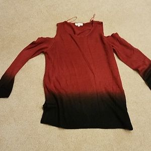 Vince Camuto Cold Shoulder Sweater Tunic